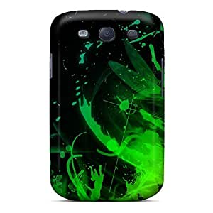 Green01 Case Compatible With For Case Samsung Galaxy S4 I9500 Cover Hot Protection Case