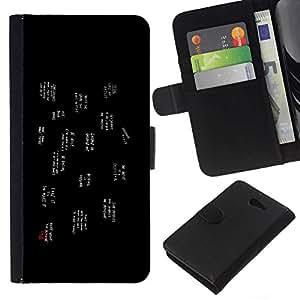 All Phone Most Case / Oferta Especial Cáscara Funda de cuero Monedero Cubierta de proteccion Caso / Wallet Case for Sony Xperia M2 // Popular Slogans