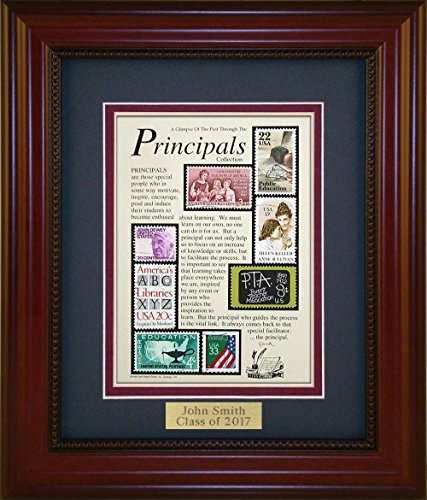 Principals - Unique Framed Collectible (A Great Gift Idea) with Personalized Engraved (Collectible Gift Plate)