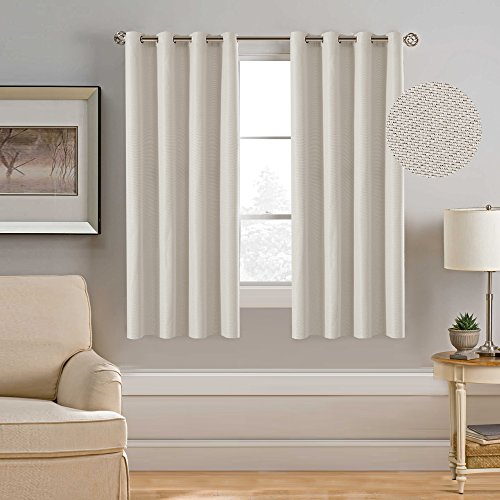 hversailtex ultra sleep energy saving rich linen grommet window curtains for spring seasonroom darkening curtain panels for bedroom52 by 63