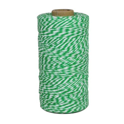 - Dress My Cupcake Baker's Twine String Roll for Gifts and Favors, 240-Yard, Kelly Emerald Green