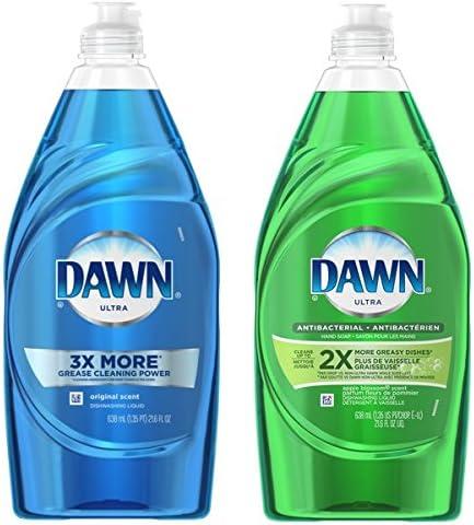 Dawn Ultra - Jabón líquido para lavavajillas, aroma a manzana y ...