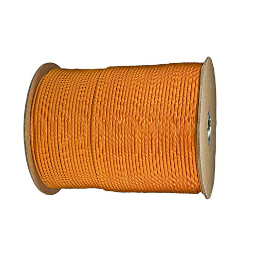 Paracord Planet Nylon 7 Type III Strand Inner Core Paracord - 1000 Feet, Goldenrod