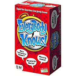 Everybody Knows Trivia Card Game (2018 Edition) Fast-Paced Question and Answer Knowledge Gaming