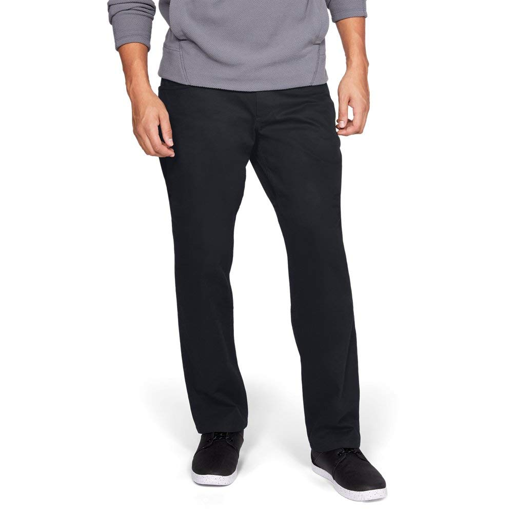 Under Armour Men's Payload Pants, Black (001)/Black, 32/34 by Under Armour
