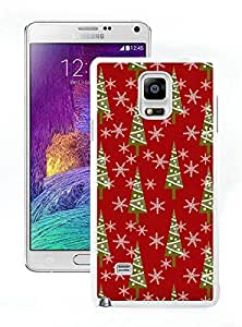 Recommend Design Christmas Vintage retro patterns White Samsung Galaxy Note 4 Case 1