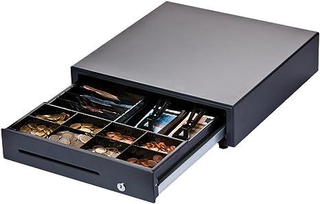 Digimex - Cajón de Caja registradora Profesional, 4 Compartimentos ...