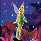Disney's Tinker Bell Luncheon Napkin, 16-Count Packages (Pack of 6)