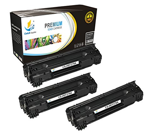 Mfp Printer Stand (Catch Supplies 79A CF279A 3 Pack Black Premium Replacement Toner Cartridge Compatible with HP LaserJet Pro MFP M26nw M26a, M12w M12a Laser Printers |1,000 Yield|)