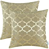 solid decorative color cord quot contemporary amazon com dp pillow beaded cover pillows gold