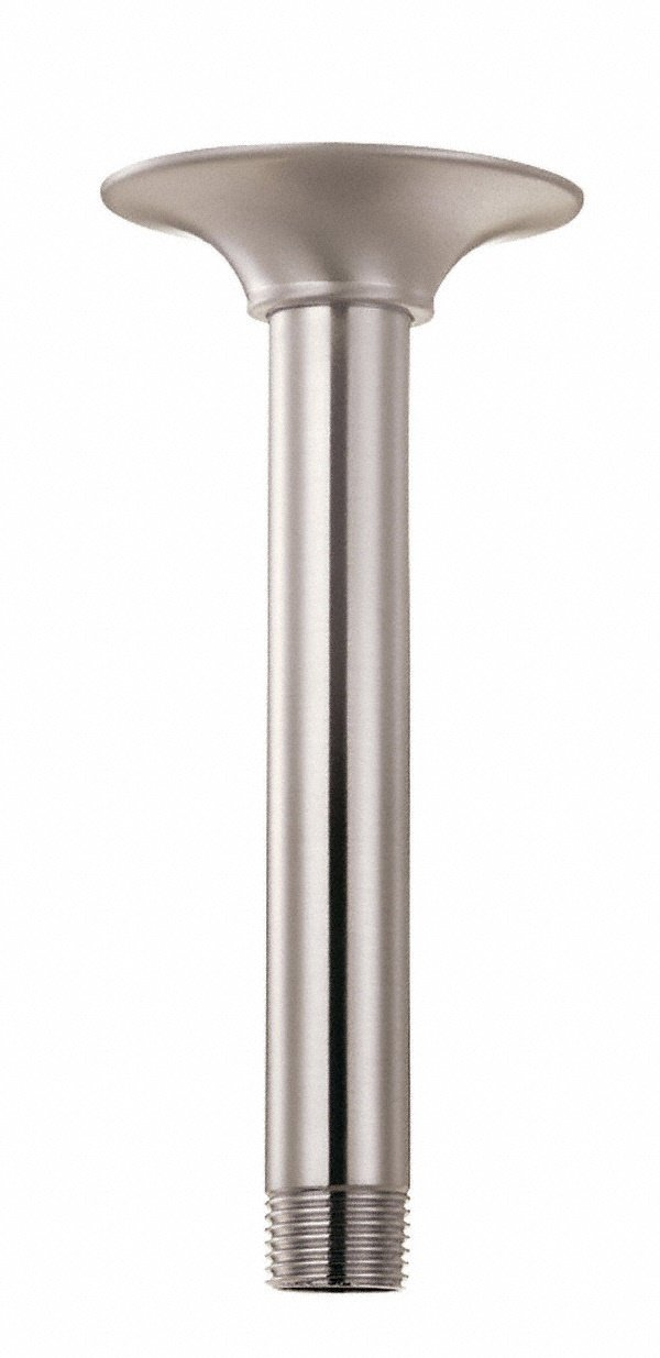 Danze D481306BN Ceiling Mount Showerarm with Flange, 10-Inch, Brushed Nickel