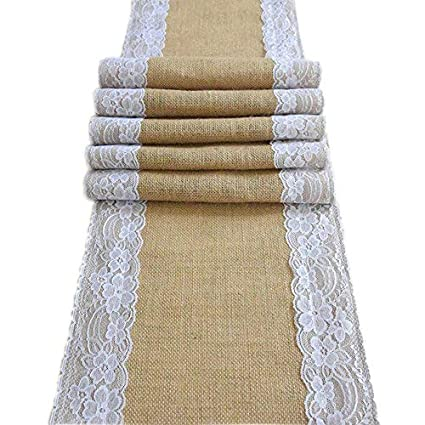 Amazon Com Amajoy Amajoy1pc 12x70 Inch 30cmx 180cm Jute Burlap