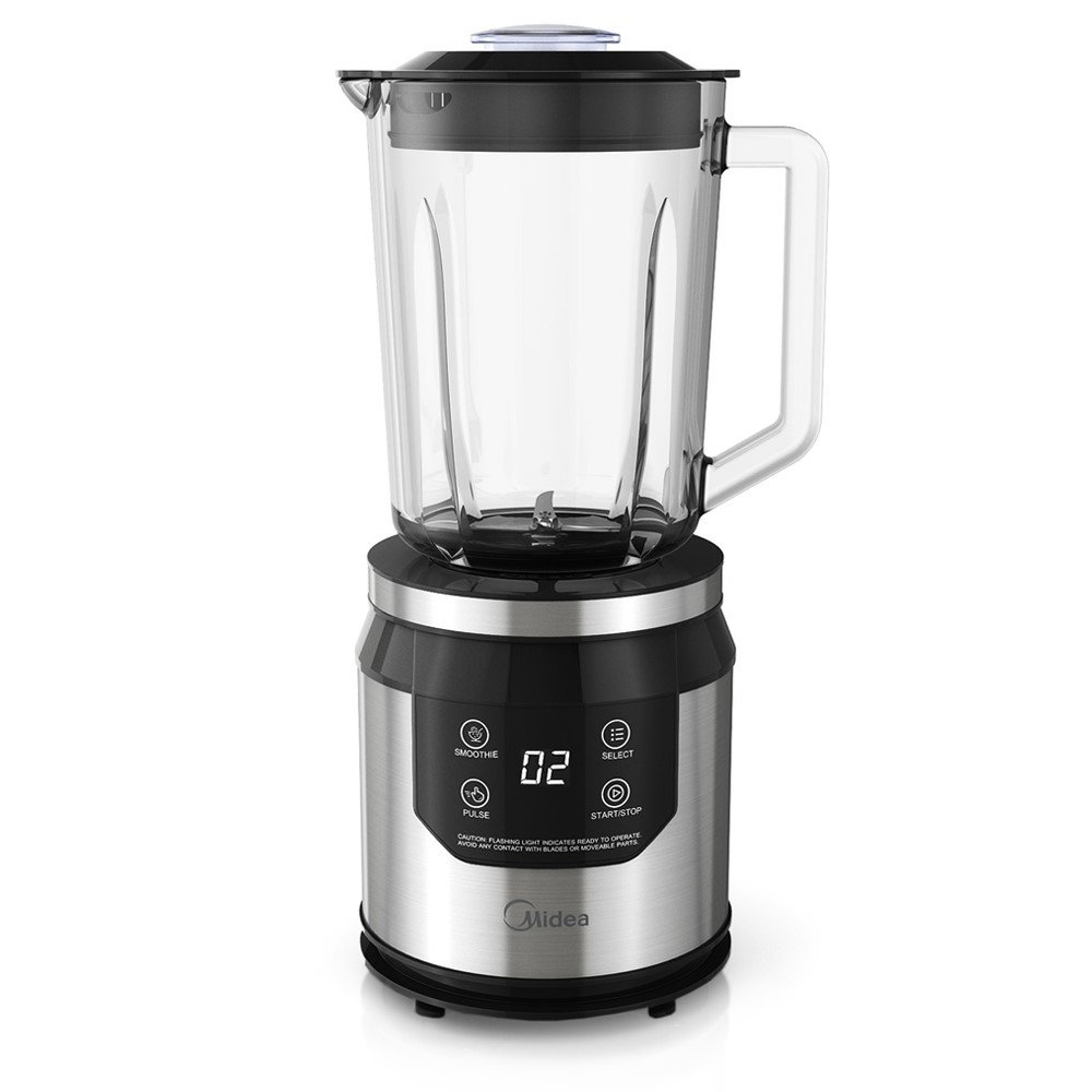 Midea PersonalChef Series Power Blender with Two 32-Ounce Personal Blending Cups and 13.5-Ounce Chopper Accessory MBL17PB