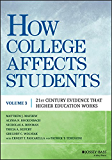 How College Affects Students: 21st Century Evidence that Higher Education Works: 3