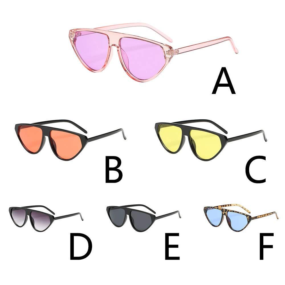 li he1 Gafas De Sol Para Mujeres Hombre Moda Vintage Forma Irregular Gafas De Sol Gafas Retro Unisex