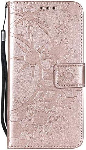 Galaxy J5 2016 ケース手帳型 OMATENTI レザー 革 薄型 財布型カバー カード入れ スタンド機能, 全面保護 おしゃれ 手帳ケース, 液晶保護 Samsung Galaxy J5 2016対応, ローズゴールド