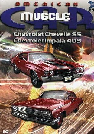 Amazon Com The American Musclecar Chevrolet Chevelle Ss Chevrolet