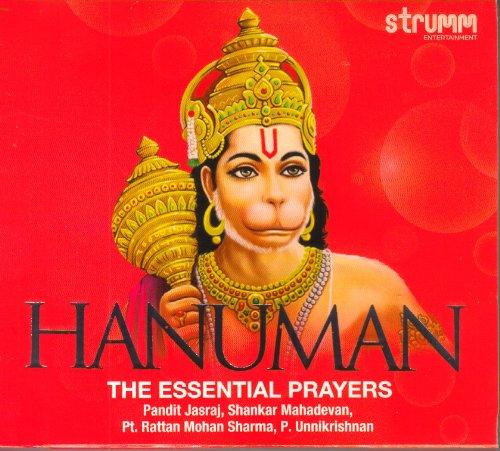 Price comparison product image Hanuman - The Essential Prayers (Feat : Pandit Jasraj / Shankar Mahadevan / Pt. Rattan Mohan Sharma / P. Unnikrishnan)