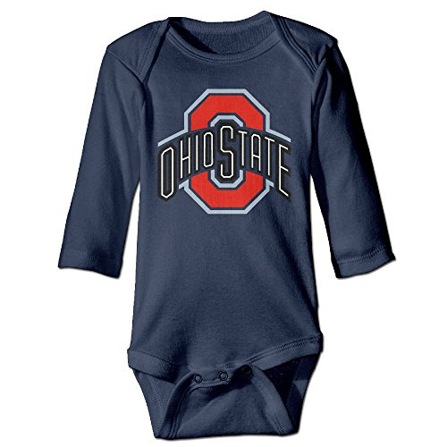 Tara Ohio State University For 6-24 Months Infant Romper Outfits For 6-24 Months 6 M Navy