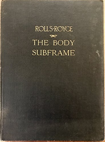 Subframe Body (Rolls-Royce The Body Subframe)