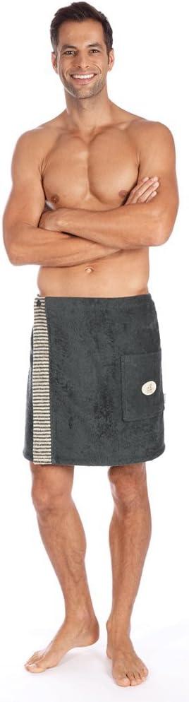 Series Alex Alan Sauna Towel Ladies Sarong Bordeaux Mens Kilt Anthracite egeria