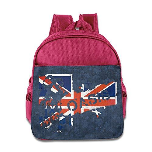 Children Oasis Band School Bag  2 Color Pink Blue