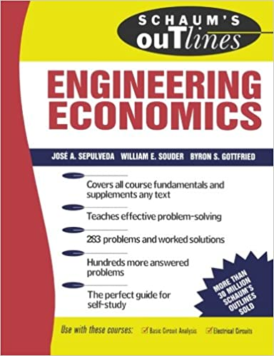Schaums outline of engineering economics jose a sepulveda schaums outline of engineering economics 1st edition fandeluxe Image collections
