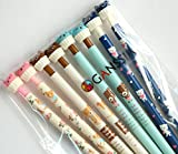 GANSSIA Bear Series Design 0.7mm Point Mechanical Pencils Pack of 8
