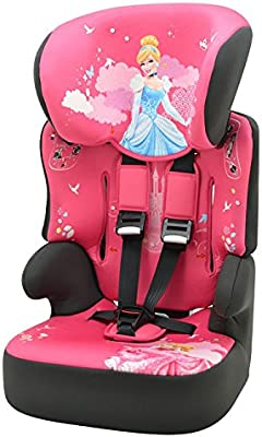 Nania Beline Group 1//2//3 Highback Booster Car Seat Pink