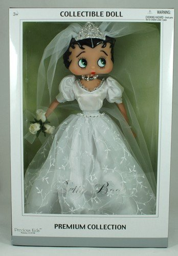 Precious Kids 31182 Bridal Dress Betty Boop Fashion Doll