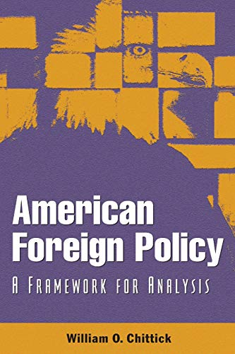 American Foreign Policy: A Framework for Analysis