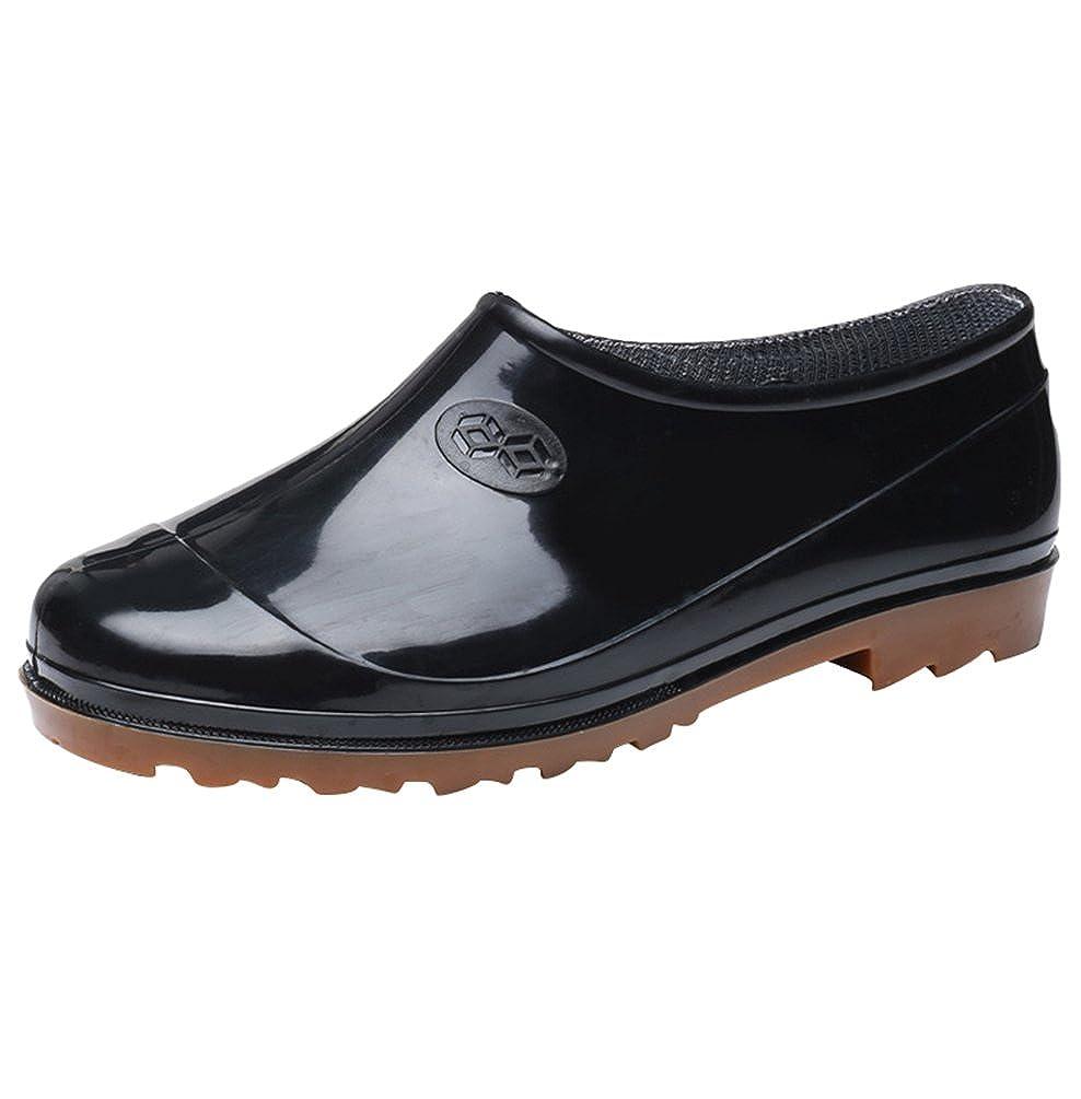 Xinwcang Hommes /& Femmes Chaussure de Jardinage Imperm/éables Unisexe Jardin Bottines Cheville Bottine de Chelsea Boots