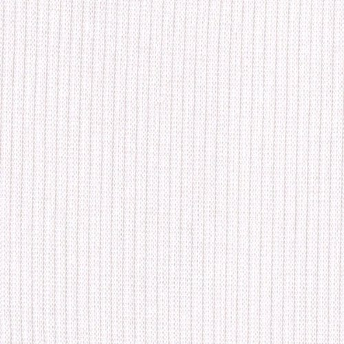 WHITE Rib Knit Fabric Ribbing Fabric Sleeves Collar Gray Stretch Rib Fabric Ribbed Hacci Fabric by the Yard- 1 - Rib Drape