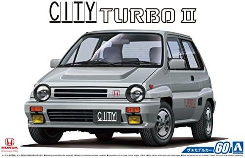 青島文化教材社 1/24 ザ・モデルカーシリーズ No.60 ホンダ AA シティターボ2 1985 プラモデル