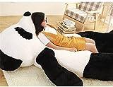 Super Soft Black White Big Bear Personalized Gifts Hug Body Pillow Panda Bear Plush Toys 63 inches