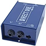 Passive Di direct box 1/4'' instrument to balanced & unbalanced XLR