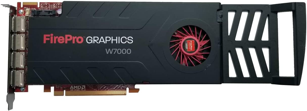 AMD FirePro W7000 4GB GDDR5 4DisplayPort PCI-Express Workstation Graphics Card 100-505634