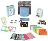 Fujifilm Instax Mini 26 Camera Accessories Bundle, 10 Piece Kit Includes: Mini 26 Case + Strap, 2 Photo Albums, 4 Color Lenses , Hanging + Photo Frames, Fridge Photo Magnets, 60 Stickers + Gift Box