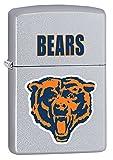 Zippo Lighter - NFL Throwback Chicago Bears Satin Chrome