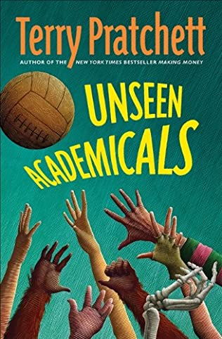book cover of Unseen Academicals