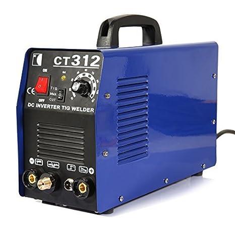 iglobalbuy 3 en 1 CT312 Multi funcional TIG/MMA/Air Plasma cortador soldador máquina con manómetro: Amazon.es: Bricolaje y herramientas