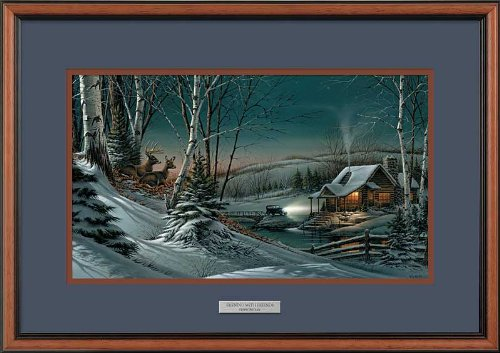 Wild Wings Evening with Friends II Encore Framed Encore Print by Terry Redlin (Best Friends Framed Print)