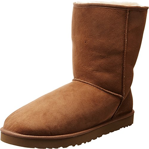 UGG Men's Classic Short Sheepskin Boots, Chestnut, 13 D(M) US by UGG