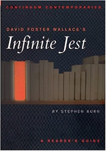 David foster wallaces infinite jest a readers guide continuum david foster wallaces infinite jest a readers guide continuum contemporaries stephen j burn 9780826414779 amazon books fandeluxe Image collections