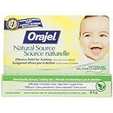Orajel Natural Source Homeopathic Baby Teething Gel