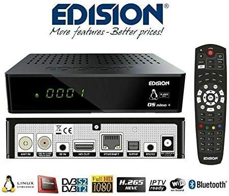 Decoder Iptv Sat Digit Edision Os Nino Plus Combo Elektronik