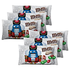 M&M's Almond Chocolate Candies for the Holidays (Pack of 6)