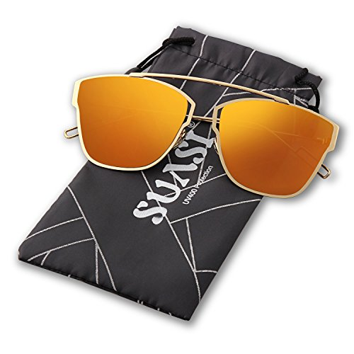 SUASI Womens Light Aviator Sunglasses