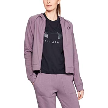 Armour FemmeVioletL Fleece Under Haut Fz Rival zMGqpLUVjS