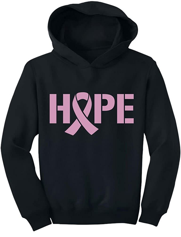 TeeStars - Breast Cancer Awareness - Hope - Pink Ribbon Toddler Hoodie G0PMMrZgvm